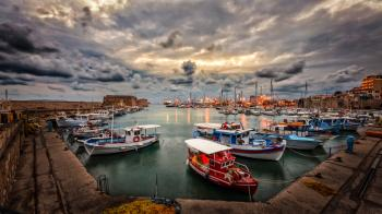 Assorted Fishing Boats