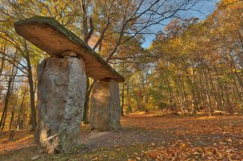 Autumn Megalith Forest - HDR