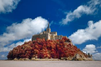 Autumn Shades of Mont Saint-Michel - HDR