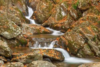 Autumn Zig Zag Cascades - HDR