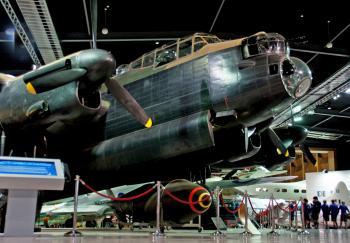 Avro Lancaster Bomber.