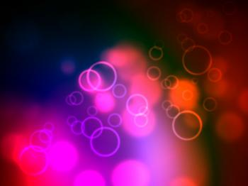 Background Bokeh Shows Light Burst And Abstract