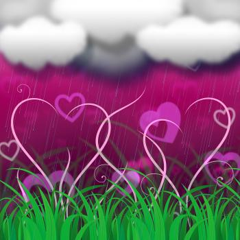 Background Clouds Indicates Clothes Pegs And Backdrop