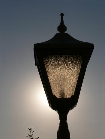 Backlit lamp