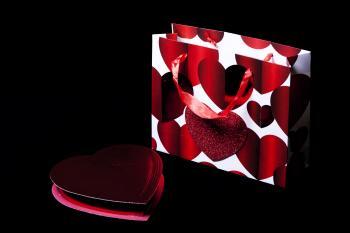 Bag and box of chocolates