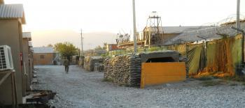 Bagram bomb shelter