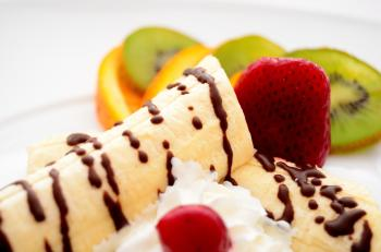 Banana Split Dish