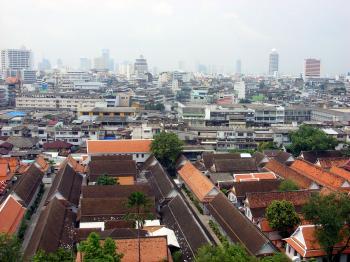 Bangkok - Rooftop view