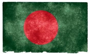 Bangladesh Grunge Flag