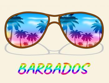 Barbados Vacation Indicates Caribbean Holiday And Vacations