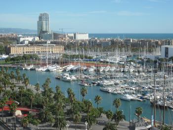 Barcelona yacht harbor