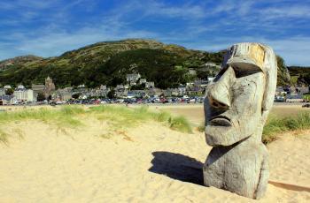 Barmouth Moai Man