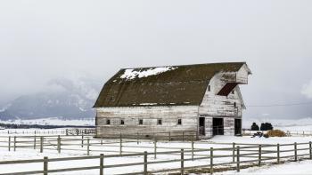Barn in Enterprise area, Oregon