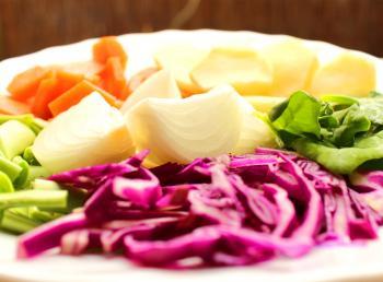 Basic soup ingredients