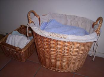 Baskets of Towels