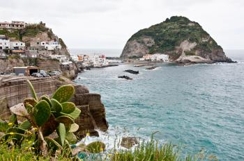 Bay of Sant Angelo, Ischia, Italy