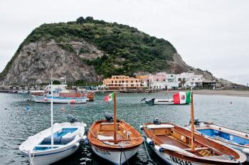 Bay of Sant Angelo, Ischia, Italy