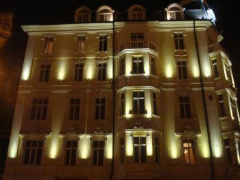 Beautiful building at night