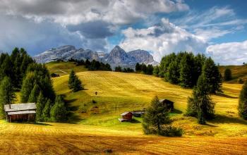 Beautiful Mountainous View