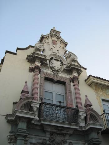 Beautiful Spanish balcony architecture