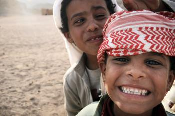 Bedouin boys in Egypt