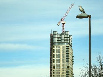 Beige Concrete Tower