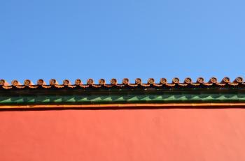 Beijing Forbidden City Roof