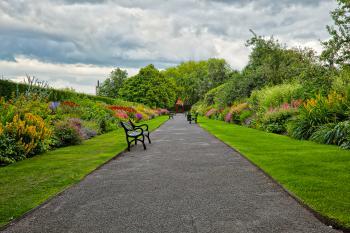 Belfast Botanic Gardens - HDR