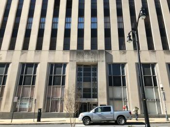 Bell Atlantic Telephone Building/Verizon Offices, 330 Saint Paul Street, Baltimore, MD 21201