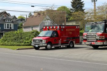 Bellingham Fire Ambulance 2