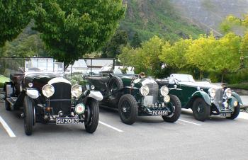 Bentley Speed Sixes.