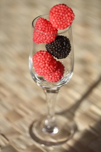 Berries in the Glass
