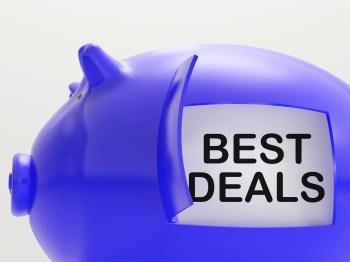 Best Deals Piggy Bank Shows Great Offers