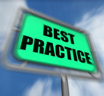 Best Practice Sign Displays Better and Efficient Procedures