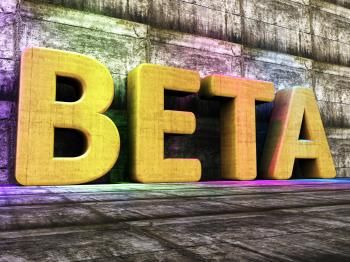Beta Software Represents Versions Version And Shareware