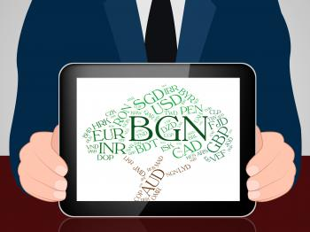 Bgn Currency Represents Exchange Rate And Bulgaria
