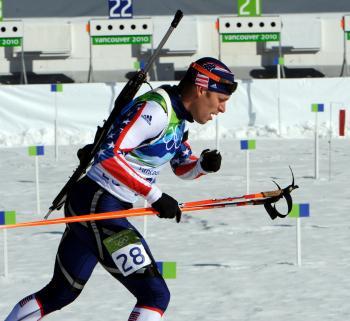 Biathlon Race