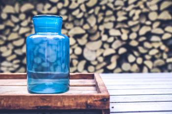 Big blue jar