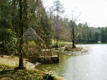 Biltmore estate bass pond