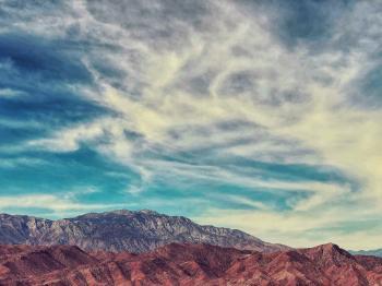 Bird's Eye Photographyof Brown Mountain