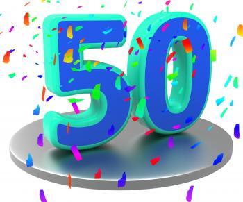 Birthday Anniversary Represents Happy Celebration And Annual