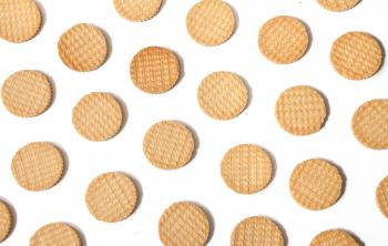 Biscuits cookies pattern background