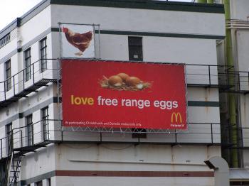 Bizarre mcDonalds advertising