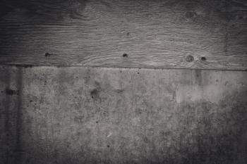 Black & White Wood and Metal Texture