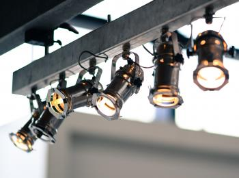 Black and Brown Spot Lights