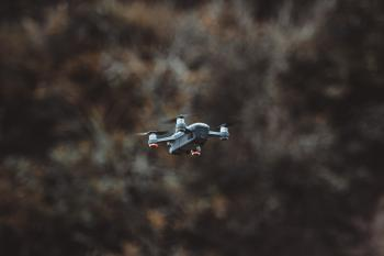 Black and Gray Drone