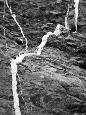 Black and White Rock Texture