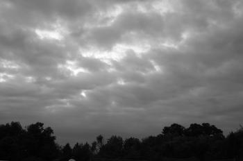 Black and White Sky