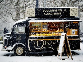 Black Boulangerie Alsacience Food Truck