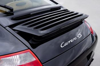Black Carrera 4s Car